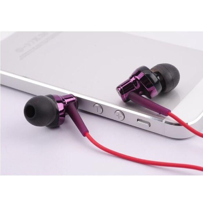 Best Seller Phrodi 007P Earphone Microphone Infinix Meizu Lenovo Asus Zenfone SPC Termurah Dan