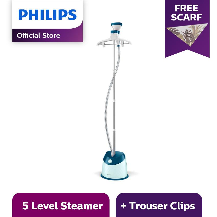 Philips Easy Touch Plus Garment Care Steamer GC518/20 - Setrika Uap Berdiri