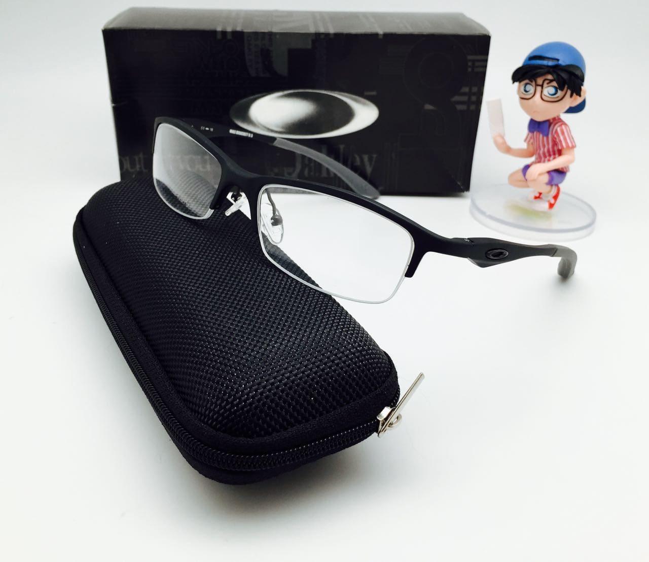 Frame Kacamata Minus Oakley Magnesium Bracket 0.5 Half Frame Pria 48e5146eca