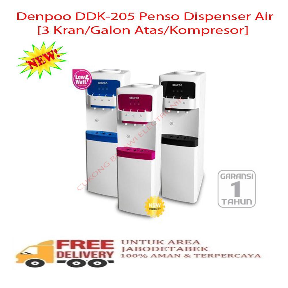 Denpoo DDK-205 Penso Dispenser Galon Atas-KHUSUS JABODETABEK