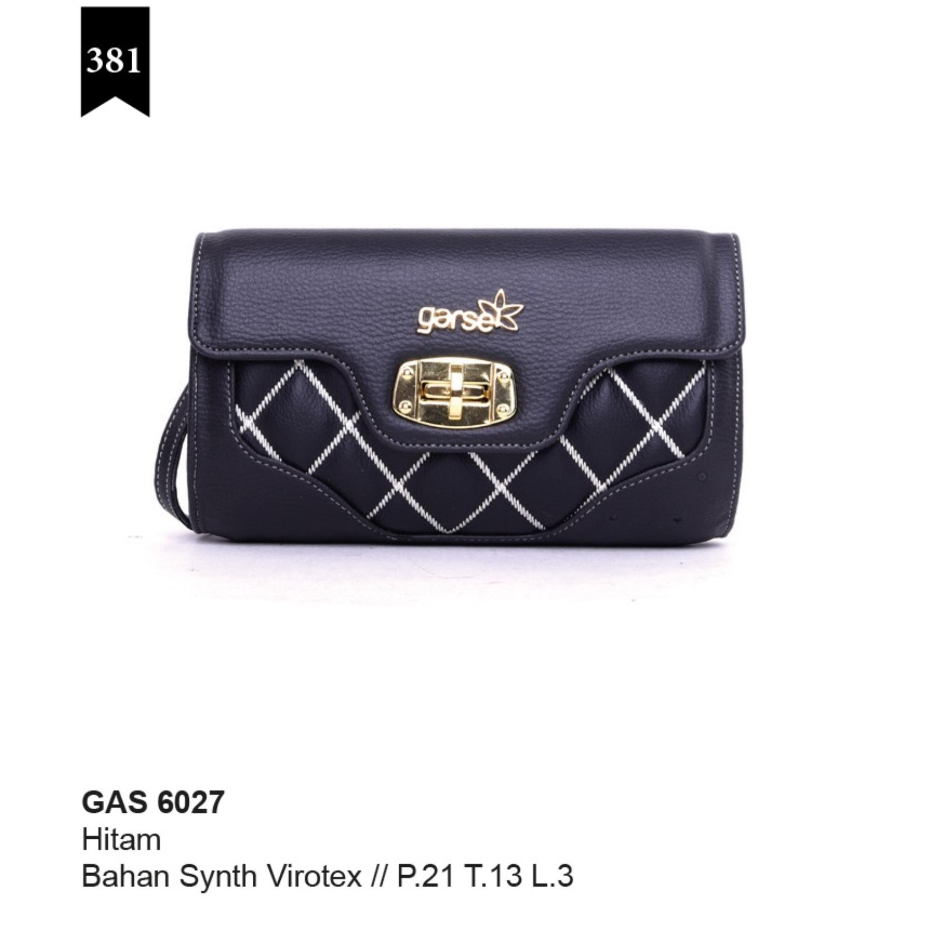 Beli Garsel Gas 6541 Dompet Clutch Wanita Virotex Bagus Brown Katalog Fashion Bahan Sintetis 21x13x3 Murah Berkualitas Hitam