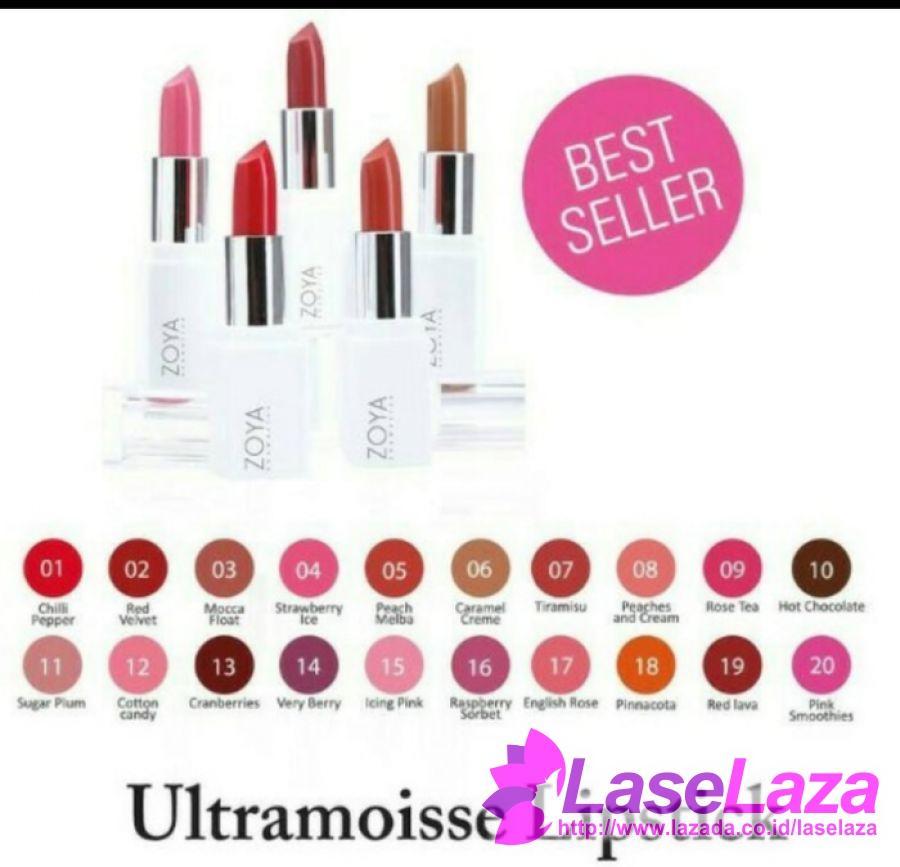 Lipstick Zoya Ultramoisse Lipstick Produk Lipstik Terpopuler