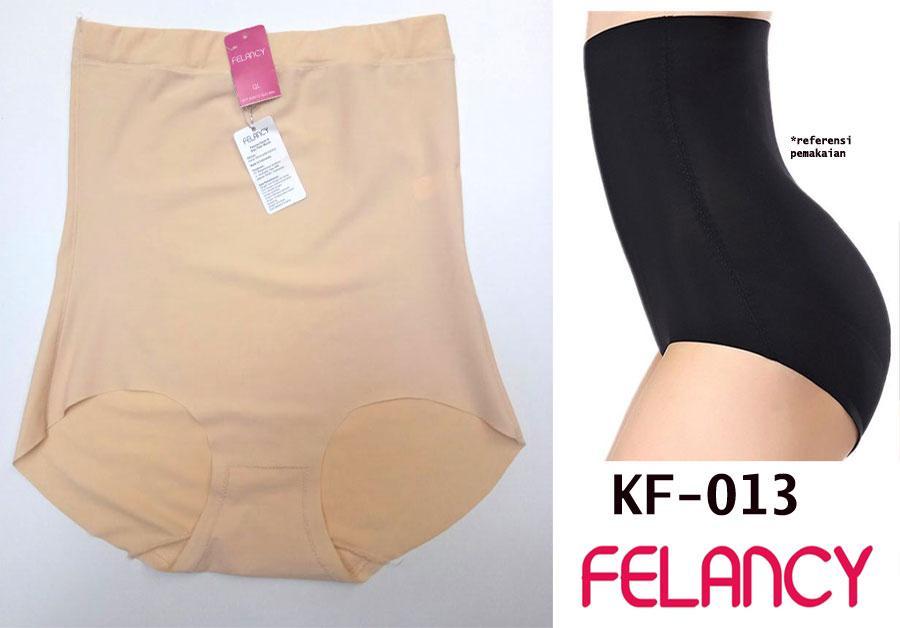 Felancy Korset Panty High Waist Seamless Corset Tanpa Jahitan Samping
