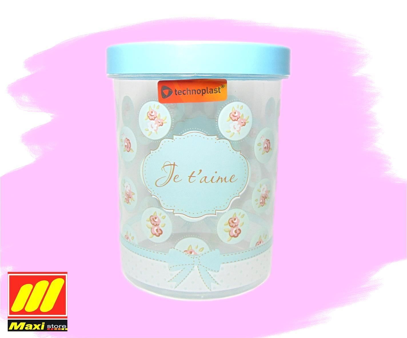 toples technoplast bonjour 1150 ml - Maxistore