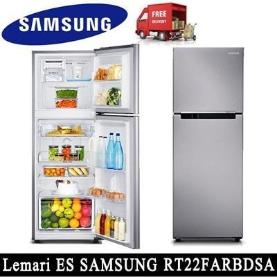 Kulkas Inverter 2Pintu Samsung Type: RT22FARBDSA (Khusus Daerah Medan)