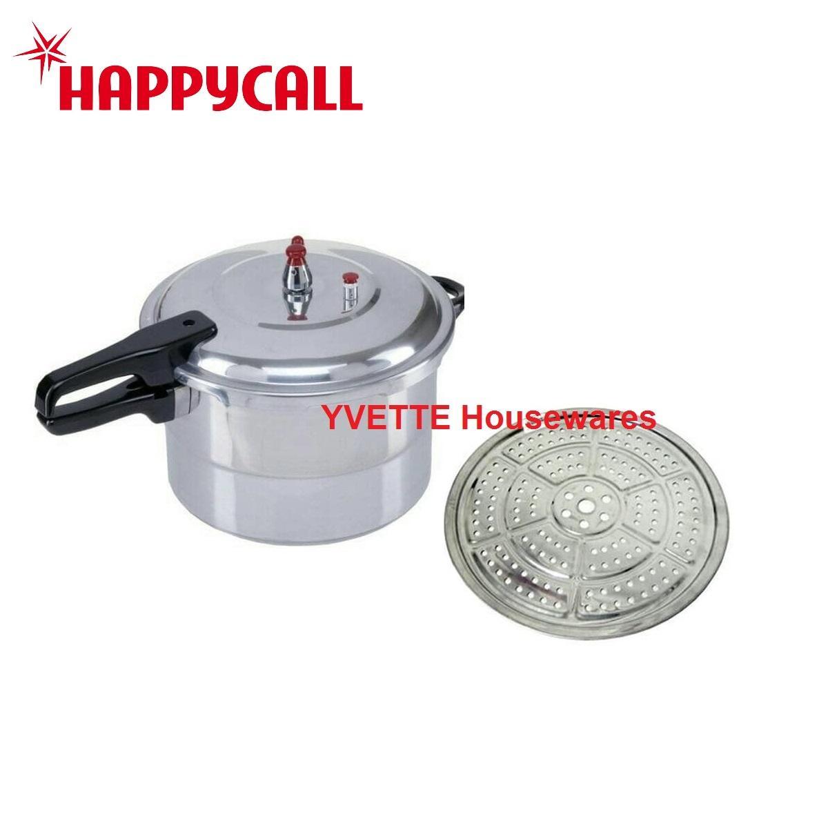 Panci Press Cooker Terlengkap Maxim Presto Pressure 24 Cm 7 L Silver Happy Call 8 Liter Bahan Kuat Kualitas Tidak Diragukan Lagi