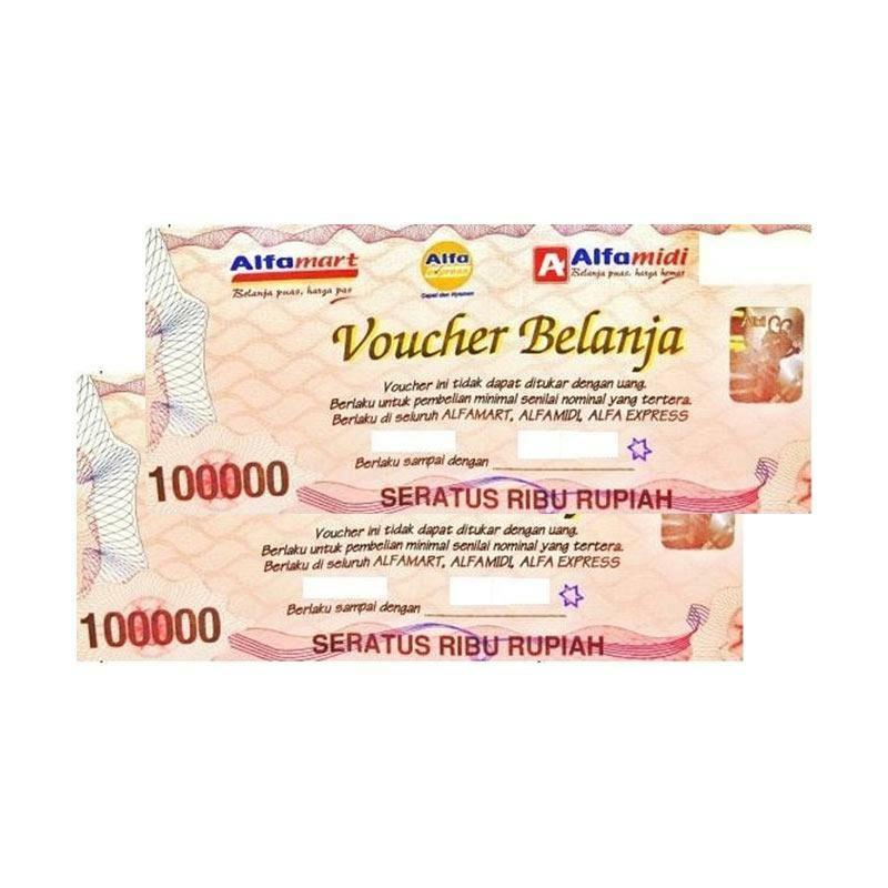 Voucher Alfamart Fisik Rp 400000 R5315