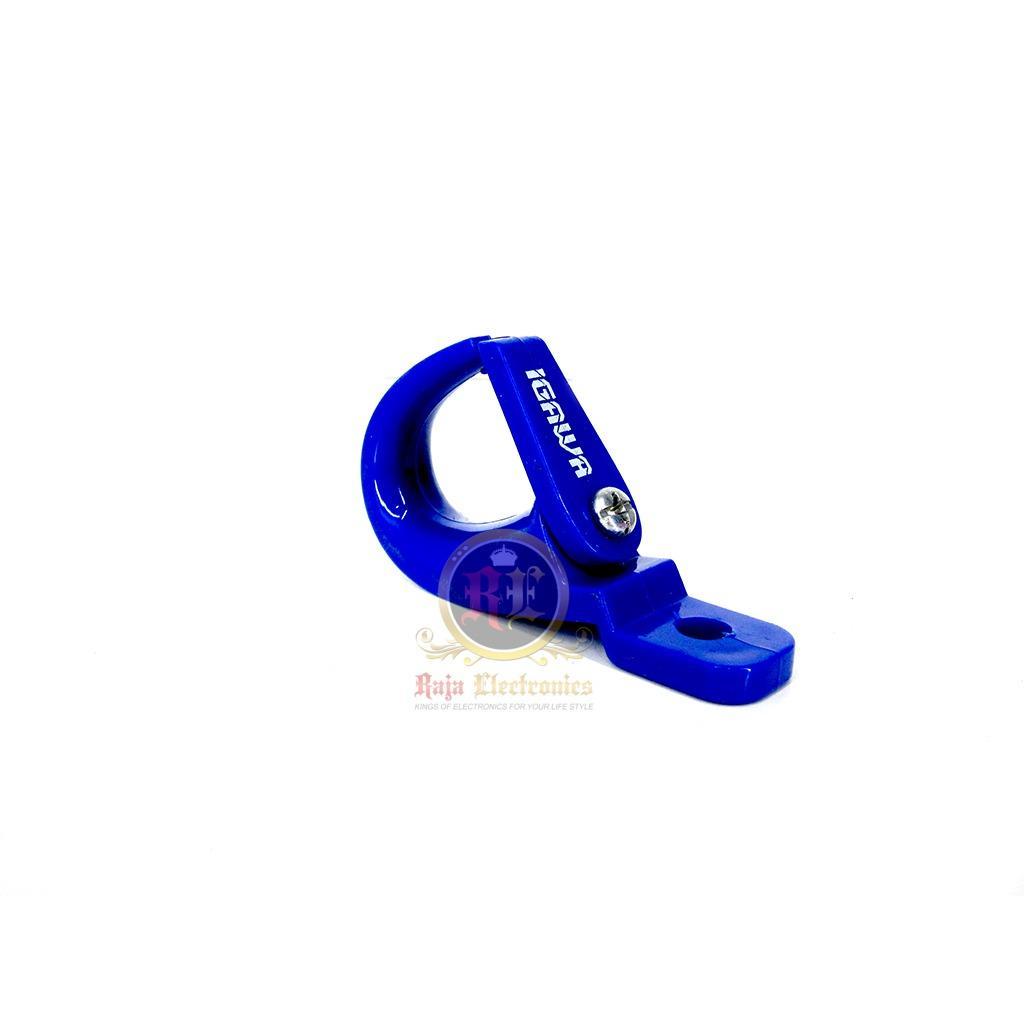 Gantungan Barang Plastik Geser Biru