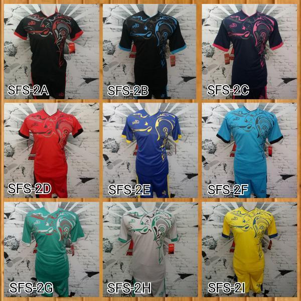 Baju Celana Kaos Olahraga Jersey Bola Setelan Futsal Specs Murah