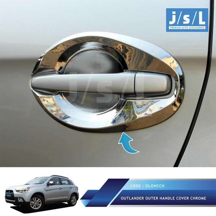 Mitsubishi Outlander Outer Handle Cover Chrome / Aksesoris Outlander
