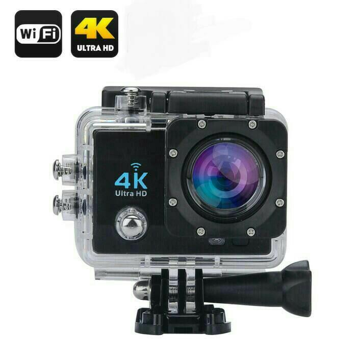 PROMO Kamera Sport Action Camera 4K Ultra HD/ GoPro wifi/Kogan Terlaris di Lazada