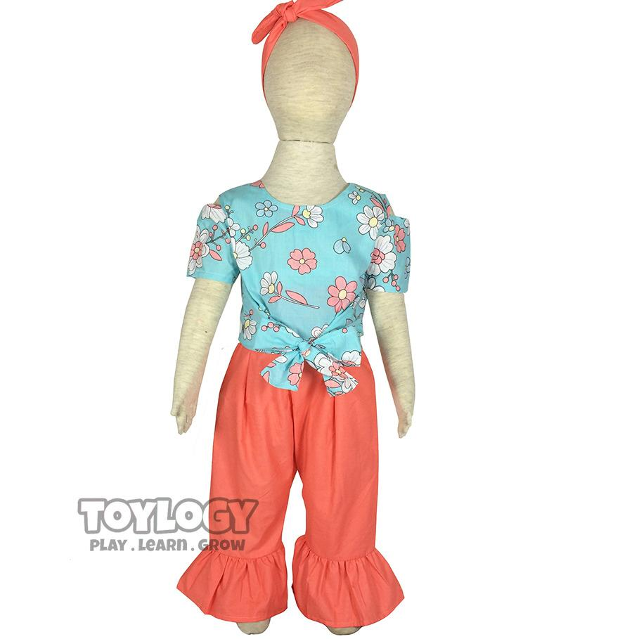 Grow Baju dan Celana Cutbray Laura Setelan Anak ( Children's Clothes Suit Laura )