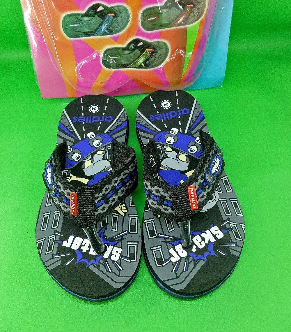 Jual Sepatu Ardiles Anak Laki Kids Gazelle Sandal Hitam 29