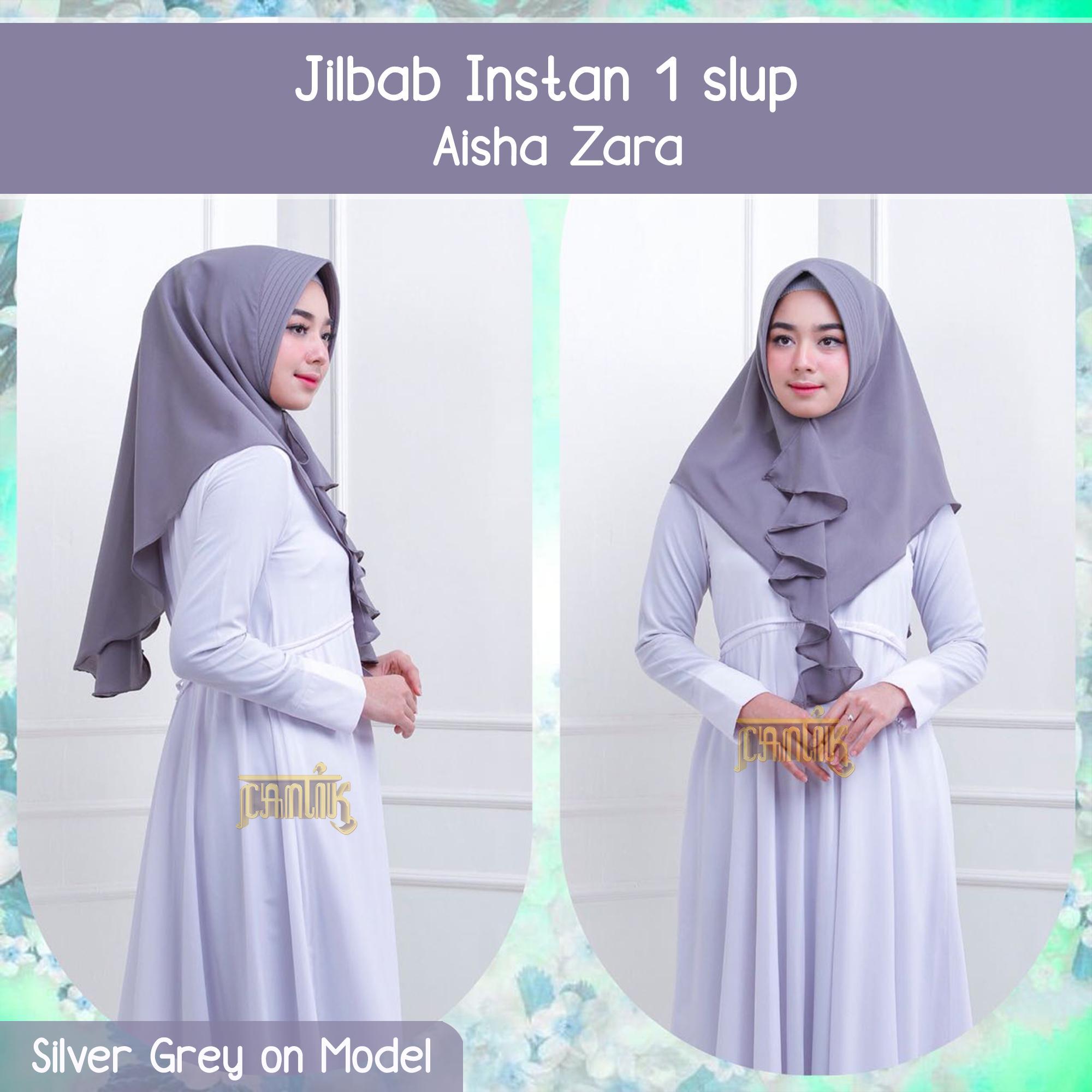 Jilbab Instan 1 Slup Aisha Zara