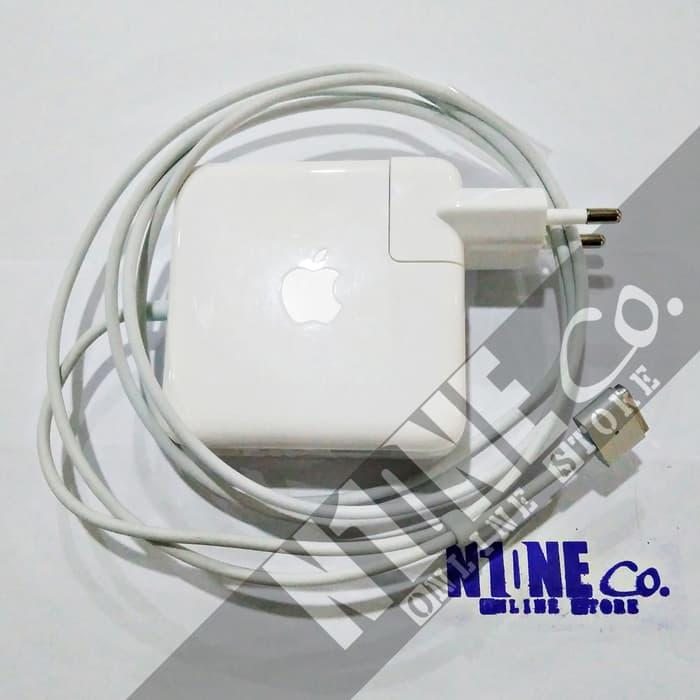 Harga Diskon!! Adaptor Apple Magsafe 2 60W Macbook Pro 13 Inch A1435 Original - ready stock