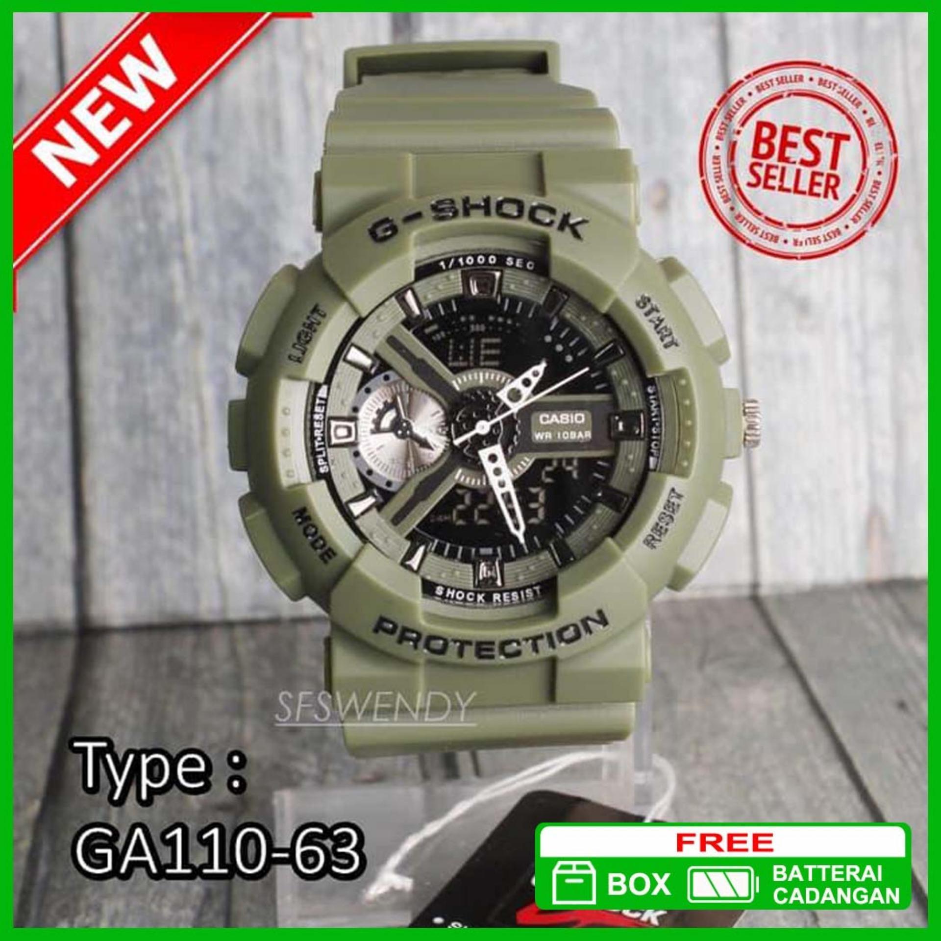Casio G Shock 1400 1a3dr Hitam Hijau Daftar Harga Terkini Dan Edifice Gw A1000fc 1a4 Home Hitamhijau Source Termurah