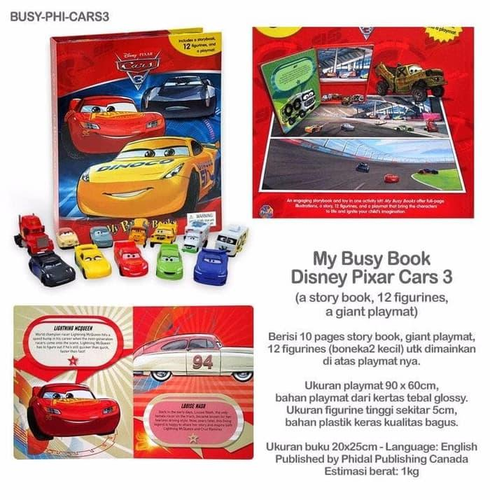 Disney Pixar Cars INKredibles Magic Ink Activity SetIDR368200. Rp 389.400