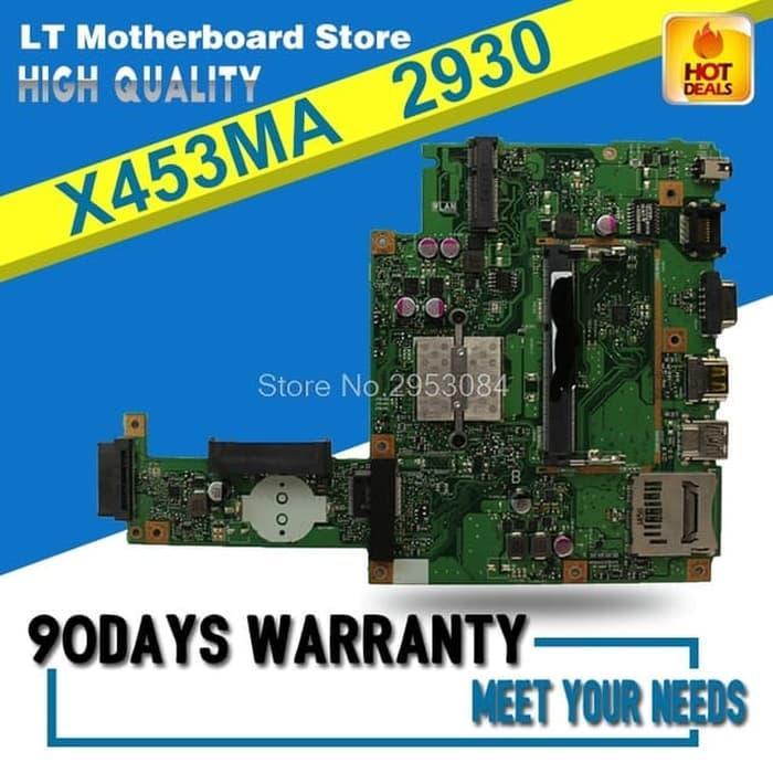 Harga Spesial!! Motherboard Asus X453Ma Rev 2.0 Mulus Original - ready stock