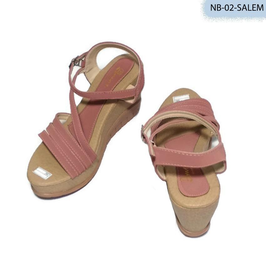 Planeta Collection Sandal Wedges Wanita NB-02 - Salem