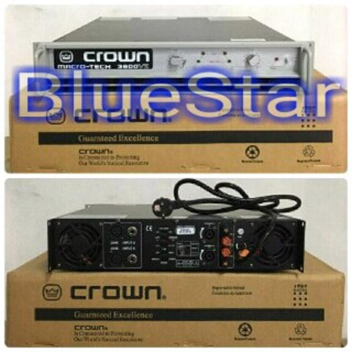 ORIGINALS  Power Crown Macro Tech 3600 (2X800Watt)