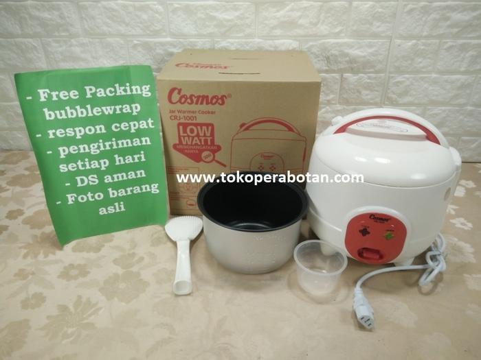 HARGA SPESIAL!!! Magic com / Rice cooker Mini Cosmos CRJ-1001 / Jar Warmer Cooker - Putih - OcisNG