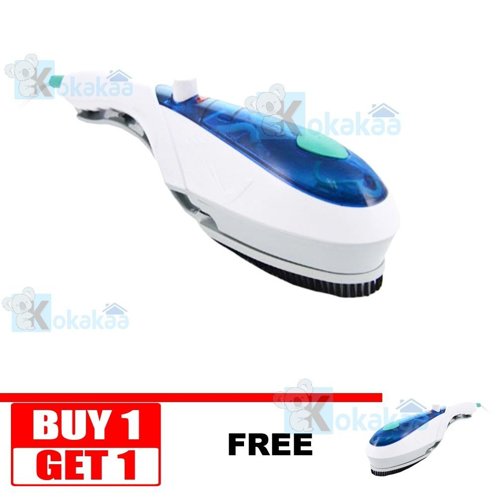 Buy 1 Get 1 Tobi Travel Steam Wand Setrika Uap Portable - Putih