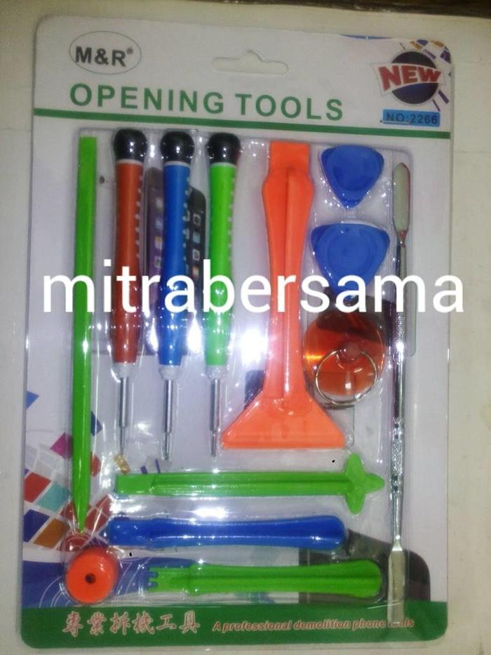 HARGA SPESIAL!!! Opening tools set pry tools obeng set iphone M&R no.2266 - 9u21dN