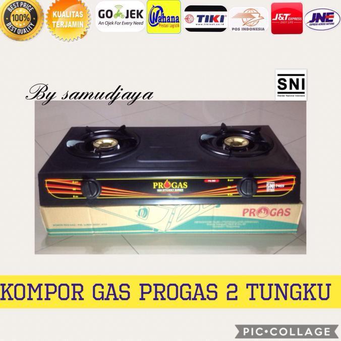 Kompor Gas Dua Tungku Progas Ber Sni Stok Terbatas !!