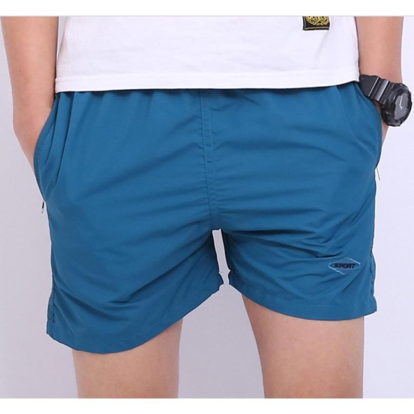 Celana Pendek Pantai Santai Pria Anti-UV Polos Beach Short Sport Pants Surfing Sea Quality Cotton Strecht Lentur Halus Kolor Musim Panas Sante Serap Keringat Olahraga Outdoor Laut Sporty Fashion Stylish Design Pakaian Bawahan