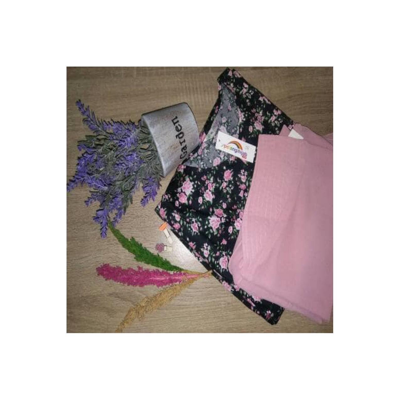 Paket hemat katun jepang pelangi hijab (026)