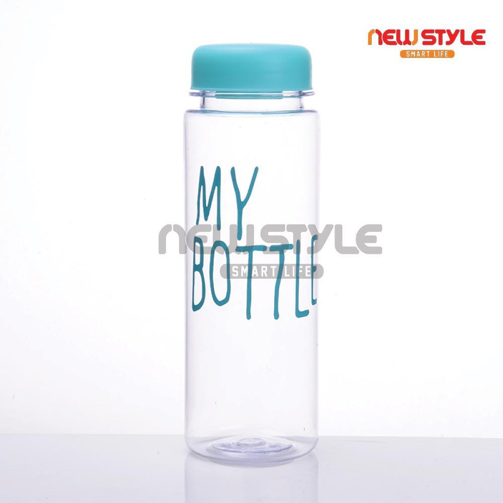 Emyli My Bottle Botol Minum Kaca Transparan 500 Ml Kuning Daftar Warna  Newstyle Plastik Lucu Murah Tumbler 500ml Infused Water Bening Colour