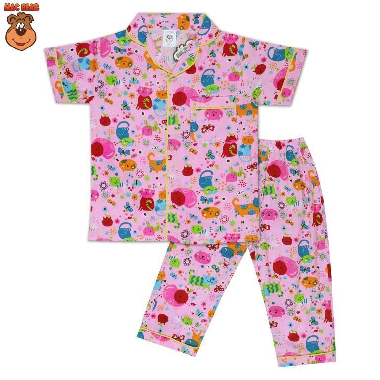 MacBear Kids Baju Anak Piyama Catty