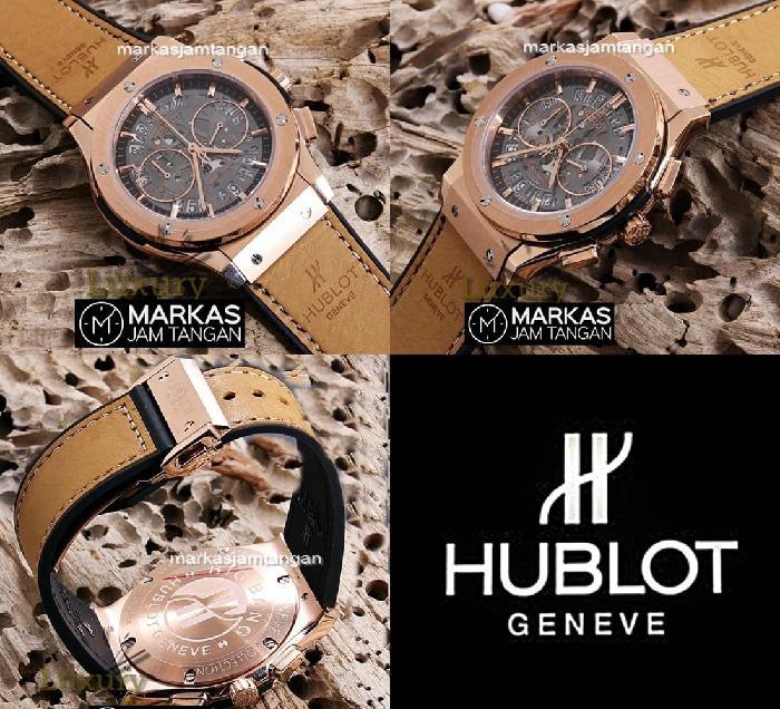 Jam Tangan Pria Merk Hublot Bigbang Type HB-9928 Leather Free Jne yesIDR1165600. Rp 1.170.000