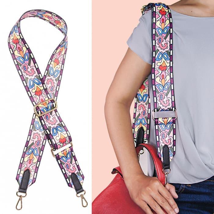 HOT PROMO!!! Tas Pundak Batik Pattern Strap Bag Ap3404