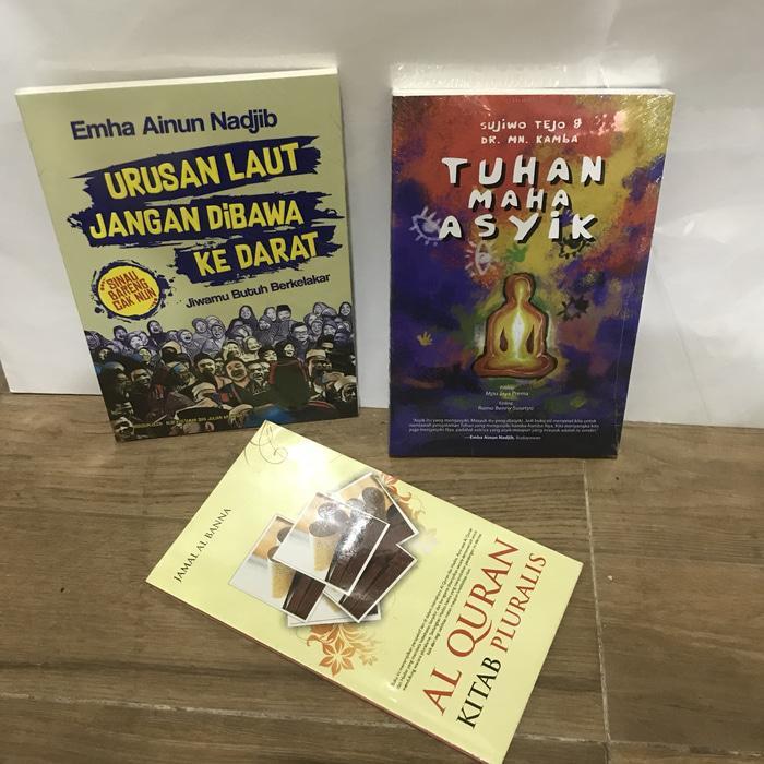 Paket Emha Ainun Najib Cak Nun Dan Sujiwo Tejo By Blamosk Shop.