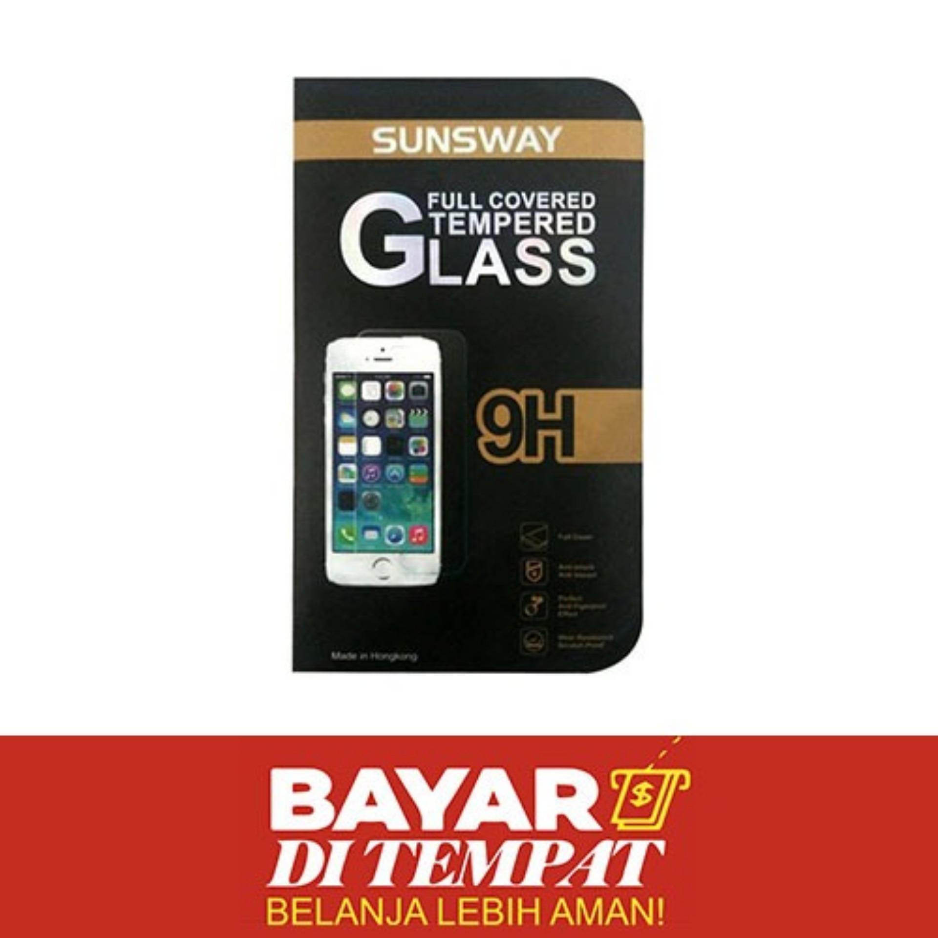 Tempered Glass For Huawei Y6 Sunsway 0,26mm + 2,5D By YGS Anti