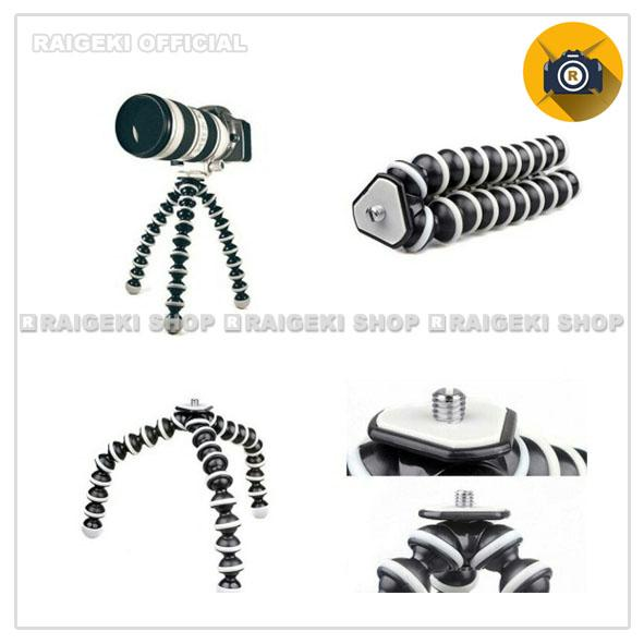 Gorilla Pod / Gorila Tripod-Tripod Lentur Fleksibel Mini Untuk HP Kamera dan Action Cam