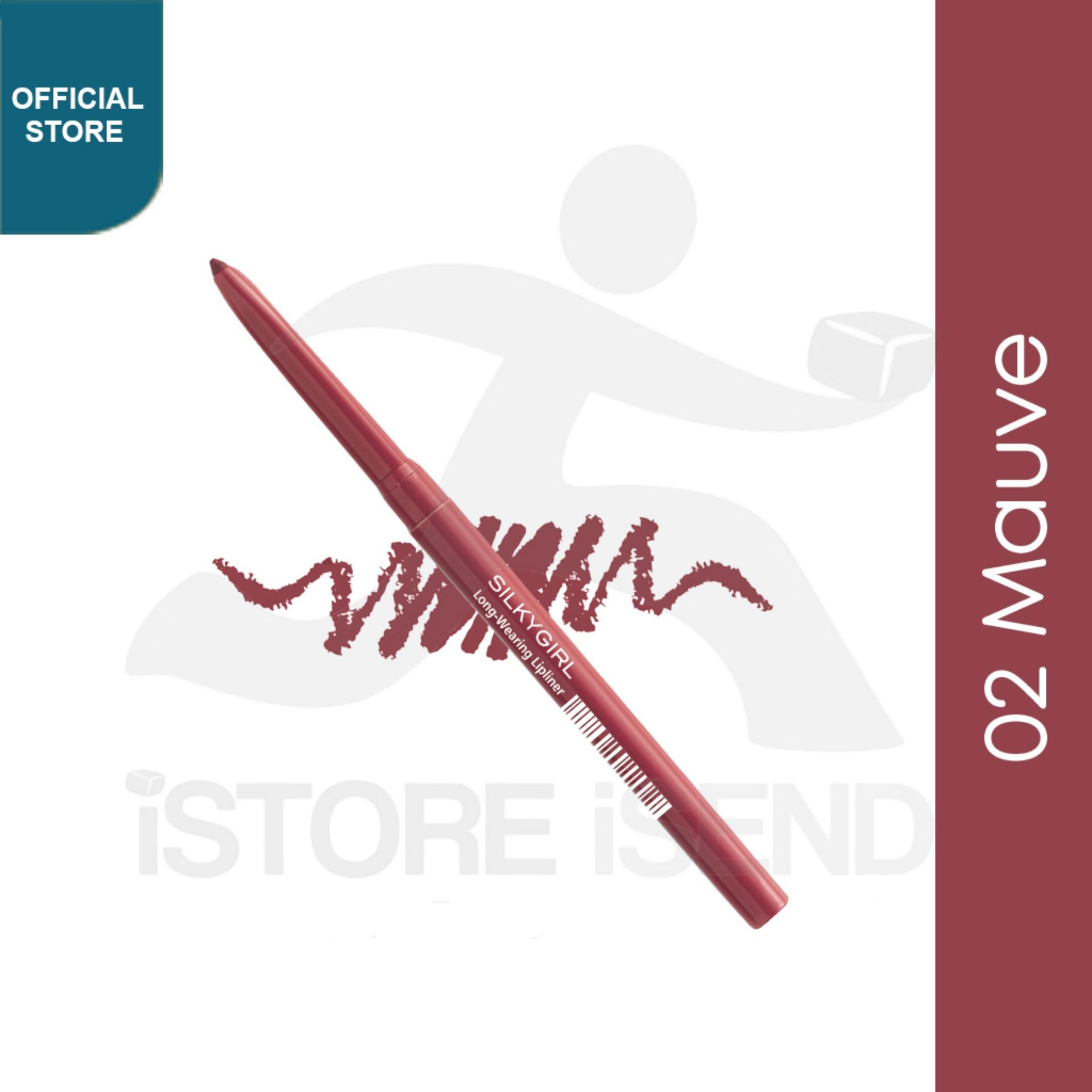 Silkygirl Long Wearing Lipliner - 02 Mauve (gl0004-02) By Silkygirl Official Store.