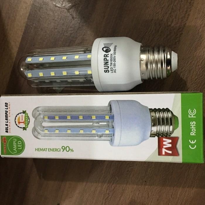 LAMPU LED Merk Sunpro 7W Lampu Jagung LED ORIGINAL
