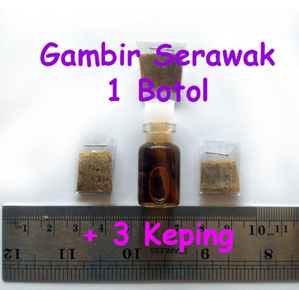 Buy Sell Cheapest Gambir Serawak Siam Best Quality Product Deals Padat Herbal Kalimantan 1 Botol Kecil 3 Keping Besar