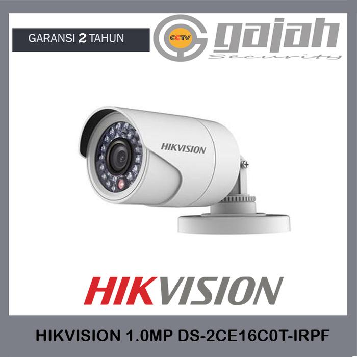 kamera cctv outdoor analog 4in1 720p HIkvision DS-2CE16C0T-IRPF