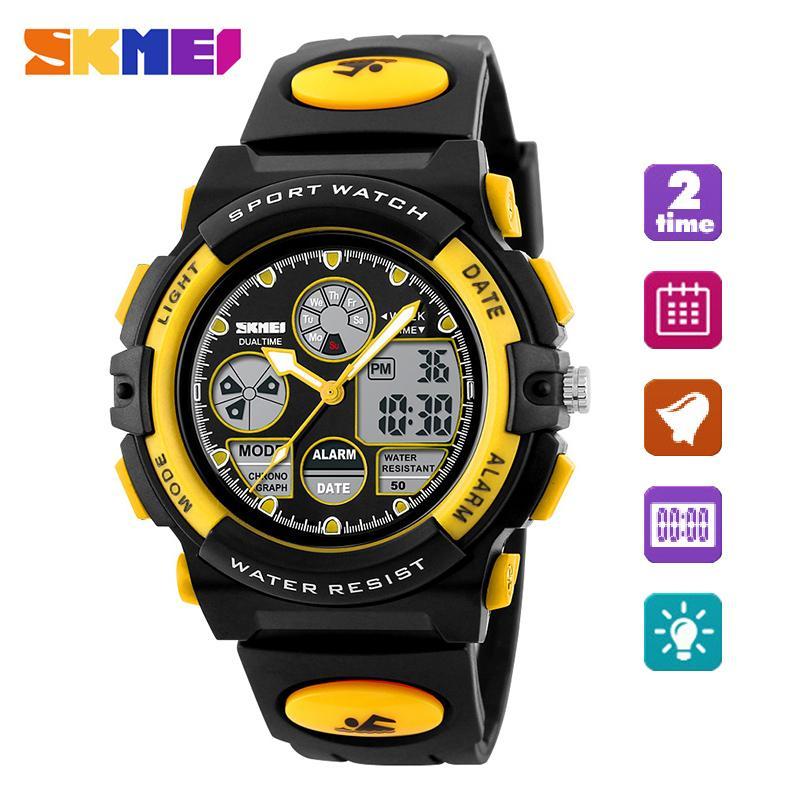 SKMEI Watch 1163 Olahraga Anak Jam Tangan Anak-anak Pria untuk Anak  Laki-laki 075e03872c
