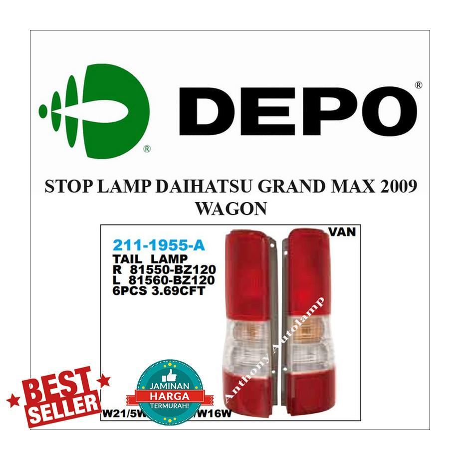 STOP LAMP DAIHATSU GRAND MAX 2009 WAGON LH