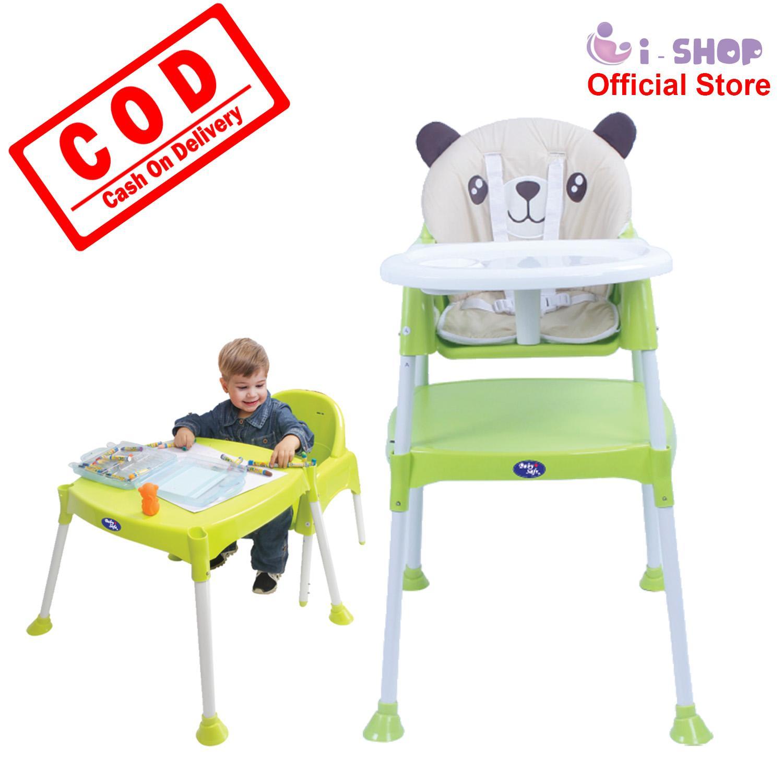 i-shop Baby Safe High Chair HC03 / Kursi Makan Bayi / Meja Kursi Makan Balita / Kursi Tinggi Bayi