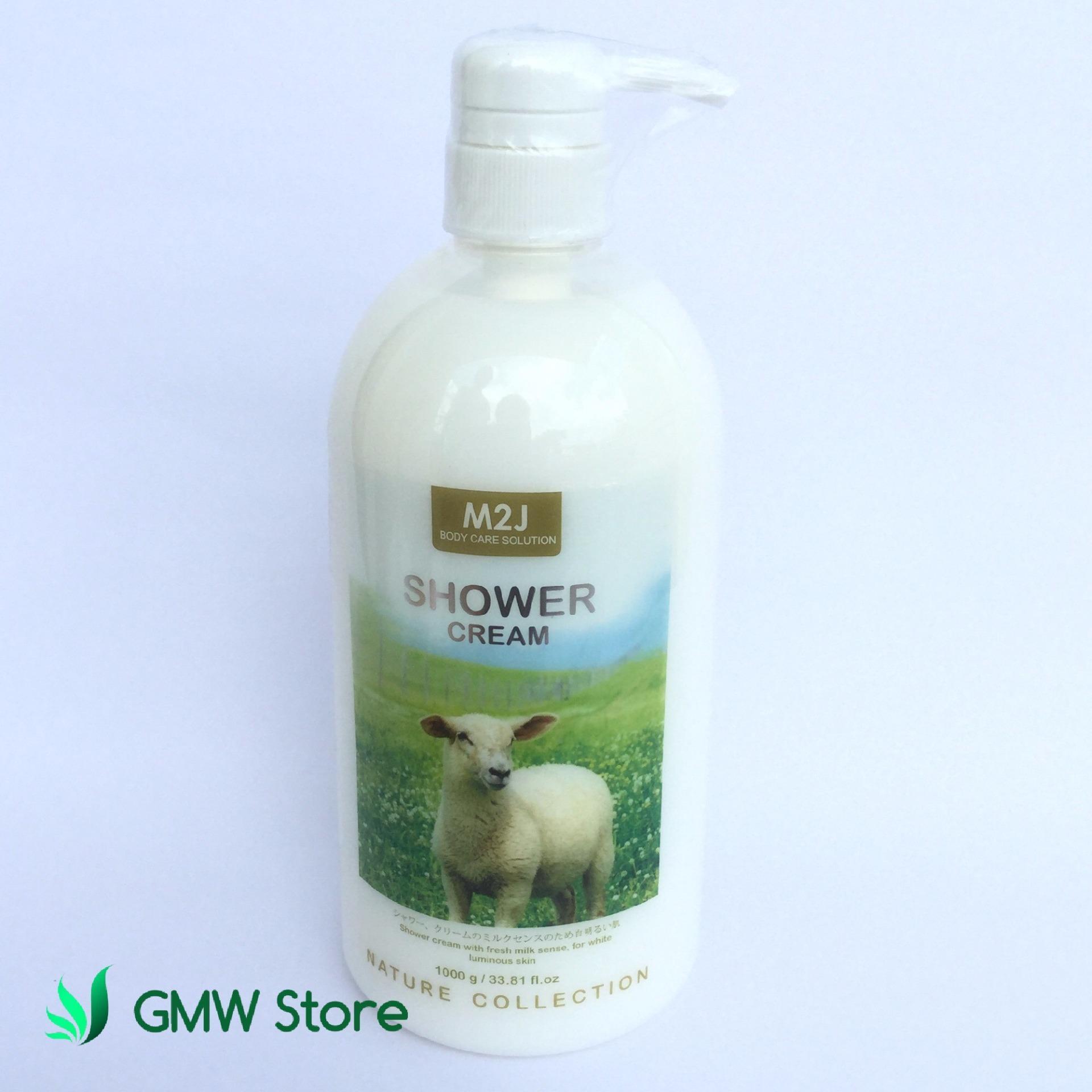 M2J Shower Cream Pump 1000gr