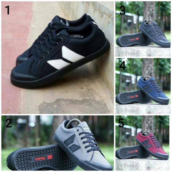 Macbeth Vegan Premium Original / Sepatu Casual / Sepatu Jalan / Kets