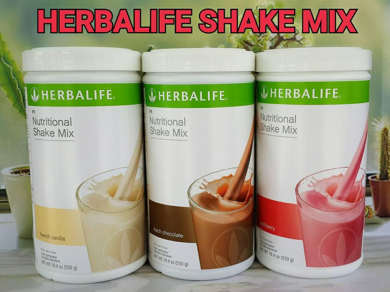 Paket 3 Shake Herbalife # Bisa Pilih Rasa Bebas Tulis Dialamat Bonus Buku Herbalife