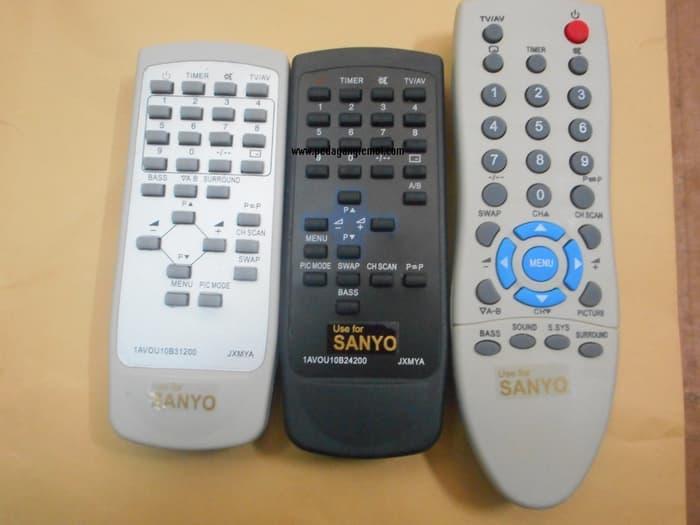 Terbaru!! Remot\U002Fremote Tv Tabung Sanyo - ready stock