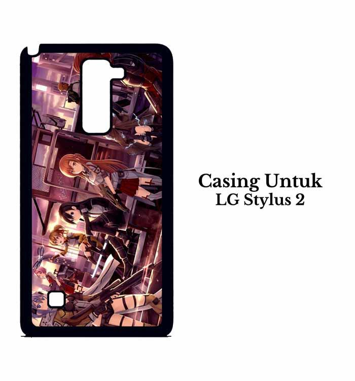 Casing LG Stylus 2 Sword Art Online Custom Hard Case Cover