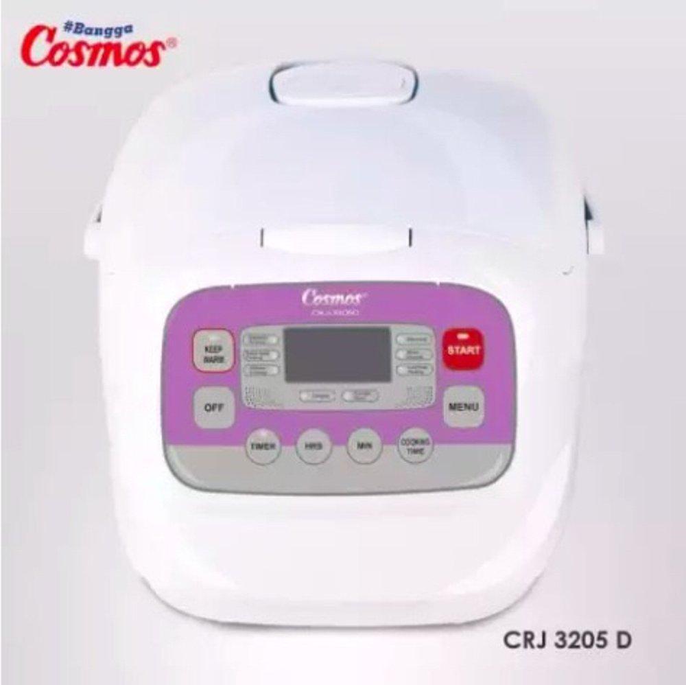 Cosmos Rice Cooker,Magic Com,Magic Jar,Penanak Nasi CRJ3205D Rice Cooker 2 Liter Digital 10 Fungsi